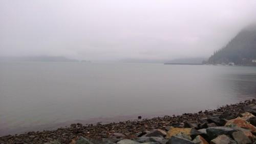 The lake at Harrison